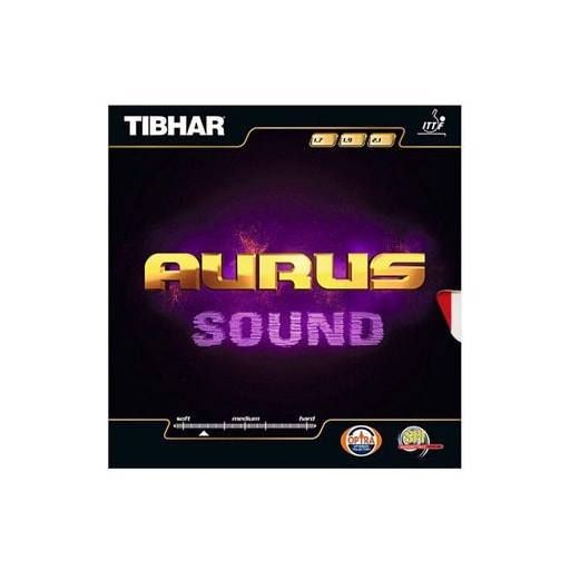 TIBHAR Table Tennis Rubber AURUS SOUND Germany pimples in with sponge ping pong tenis de mesa