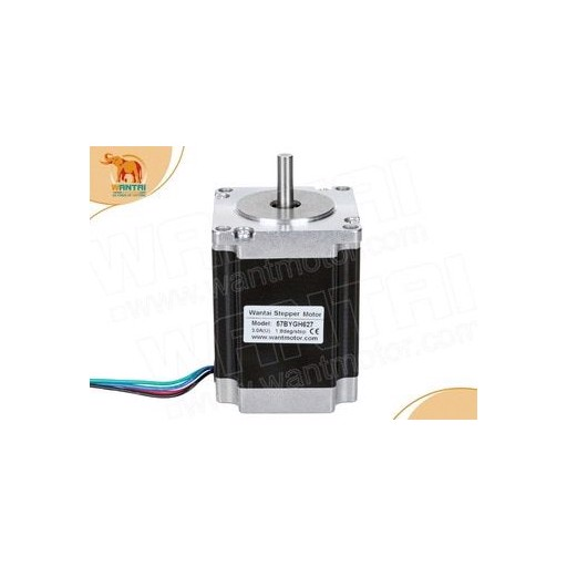 (Germany Ship, EU NO TAX) High Nema 23 Wantai Stepper Motor 19kg.cm, 2 phase,  1 PC 57BYGH627 CNC Mill Cut Engraver, Laser