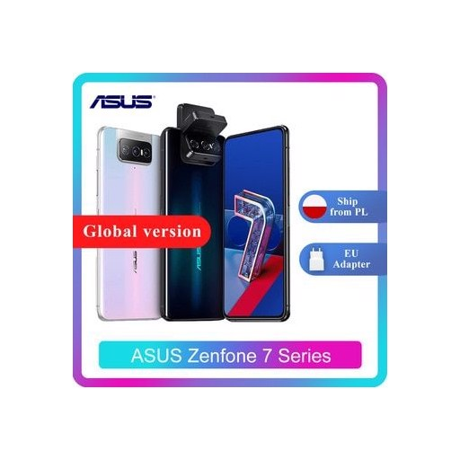 ASUS Zenfone 7/7 Pro 8GB RAM 128/256GB ROM Snapdragon 865/865Plus 5000mAh NFC Android Q 90Hz 5G Smartphone