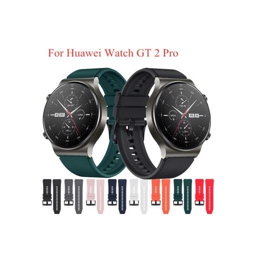 Sport Silicone Strap for Huawei Watch GT 2 Pro Band Replaceable Wrist Strap Fashion Bracelet Watchbands for Huawei Watch GT2 Pro