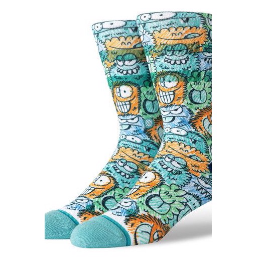 Носки STANCE KEVIN LYONS CRUNCH (Teal, L)