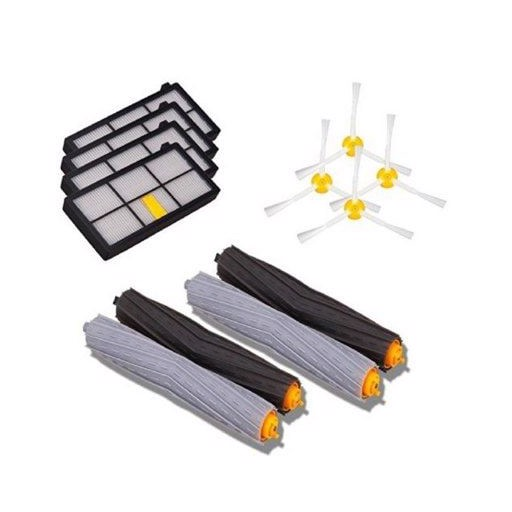 04 Sweeper Robot Accessories for Irobot Roomba 800/900 Series Universal Filter Roller Brush Set