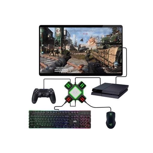 PS4 Xbox One Keyboard Mouse Adapter Gamepad Controller Converter For PS4 PS3 Xbox One Nintendo Switch Multiplayer FPS