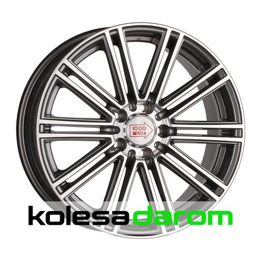 1000 MIGLIA MM1005 7.5x17/5x114.3 D67.1 ET40 Dark_anthracite_polished