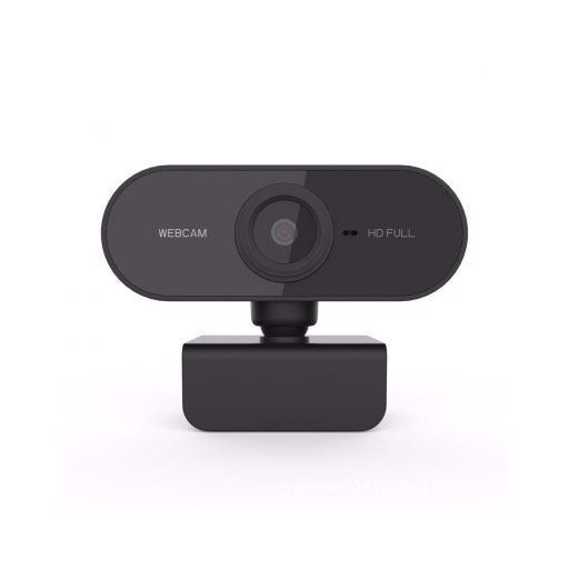 HD 1080P Webcam Rotatable Web Camera with USB Plug Microphone for Computer PC Live Broadcast Video Calling Conference Work