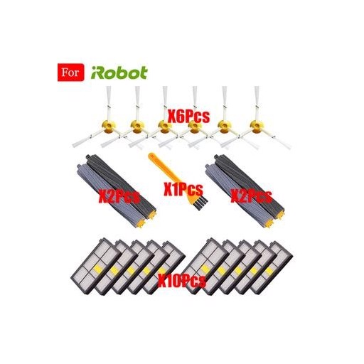 Sweeping Robot Accessories HEPA Filter For iRobot Roomba 800 900 Series 860 865 870 880 980 Replacements Parts Spare Brushes Kit