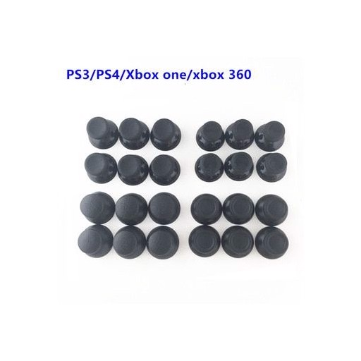 100pcs 3D Analog Joystick Stick Module Mushroom Cap For Sony PS4 Playstation 4 PS3 Xbox one Xbox 360 Controller Thumbstick Cover