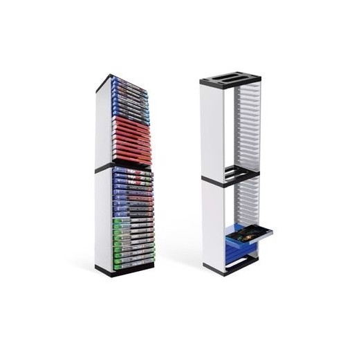 Host Game Disk Tower Storage Rack Store 36 Game Discs For PS4 PS5 Switch XboxOne WXTB