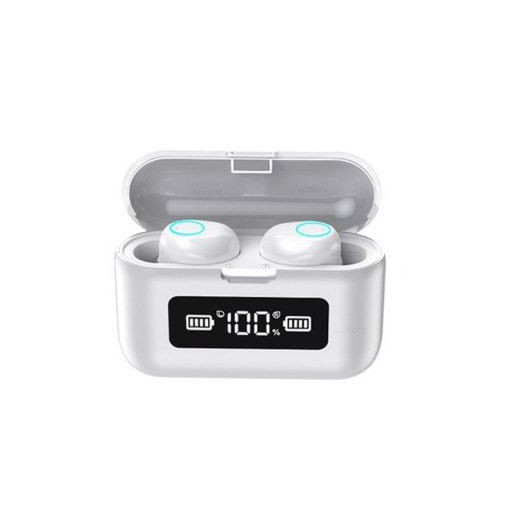 281281 Aperture Wireless Bluetooth Earbuds Headphone LED Power Display Touch Control Earphones