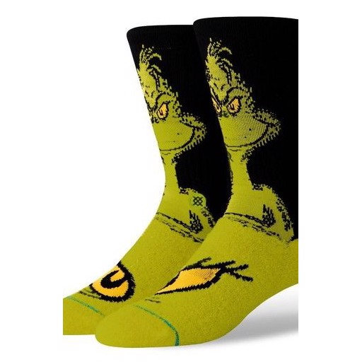 Носки STANCE THE GRINCH (GREEN, S)