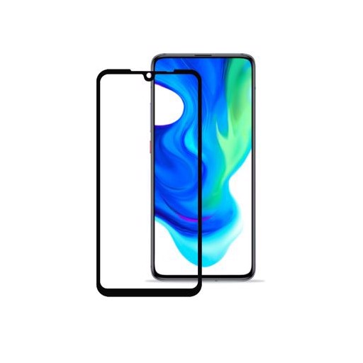 2,5D Full Cover HD для Xiaomi Redmi 9 (черная рамка)
