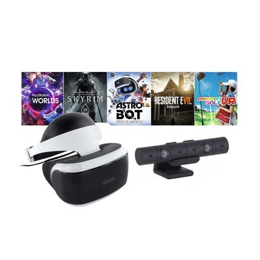 Шлем виртуальной реальности Sony PlayStation VR Mega Pack 2 MK4 CUH-ZVR2 + PS Camera + 5 игр PS719998600