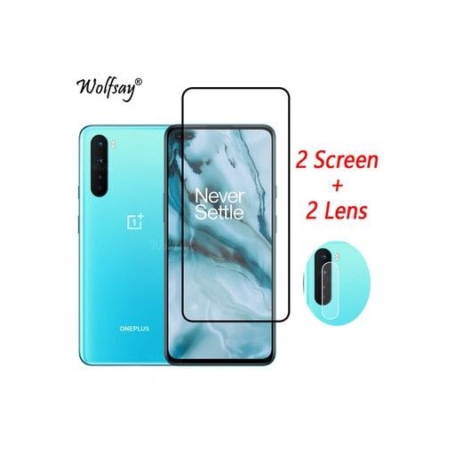 Full Cover Tempered Glass For OnePlus Nord Screen Protector For OnePlus Nord N10 5G Camera Glass For OnePlus Nord N100 N10 Glass