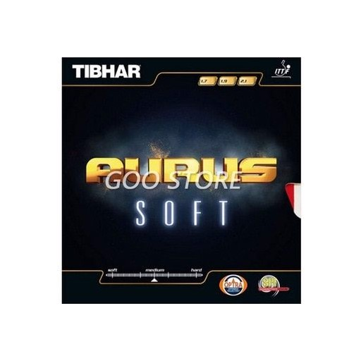 TIBHAR AURUS SOFT Table Tennis Rubber Germany Fast attack loop pimples in with sponge ping pong tenis de mesa