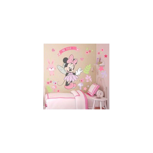 New Fashion minie  Clubhouse Wall Sticker Removable Vinyl Decals Kids Room Deco