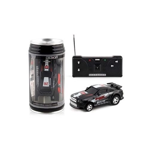 4 Colors 20Km/h Coke Can Mini RC Car Radio Remote Control Micro Racing Car 4 Frequencies Toy For Kids Gifts RC Models