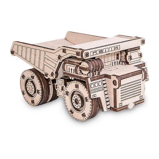 Eco Wood Art Конструктор Ewa Belaz mini, 106 элементов