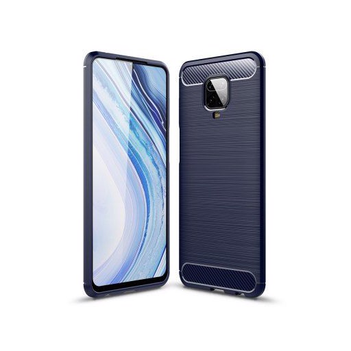Naxtop Full Protective Phone Case Carbon Fiber Brushed Soft Bumper Back Cover for Xiaomi Redmi Note 8 Pro / Note 8 / Note 9 / Note 9 Pro / Note 9 Pro Max / Note 9S
