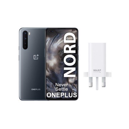 Global Version OnePlus Nord 5G Snapdragon 765G Smartphone 8GB 128GB 6.44 inch 90Hz AMOLED Screen 48MP Quad Cams Warp Charge 30T