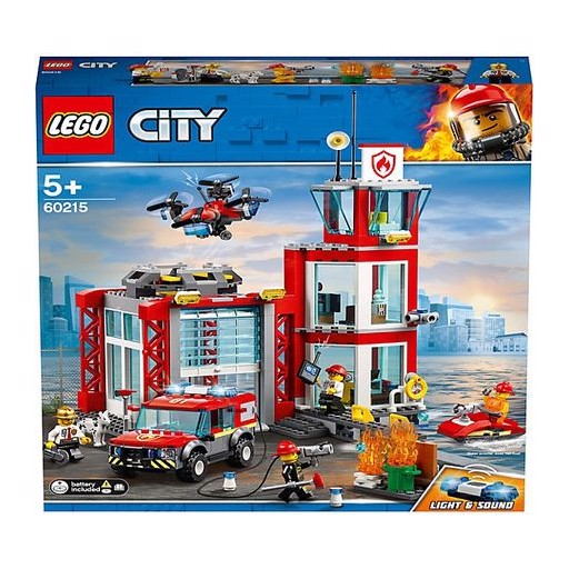 LEGO City Fire Пожарное депо 60215
