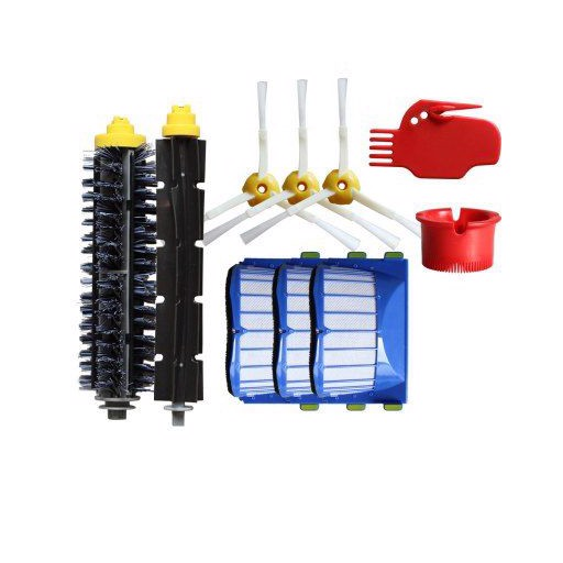 1978 Roller Brush Filter Cleaner Sweeper Accessories Set Suitable for iRobot
