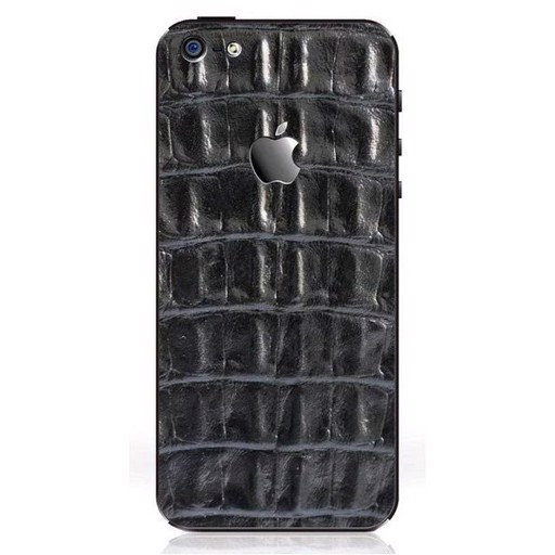 iRich Leather Sticker H-312 for HTC One (Black)