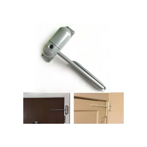 1 Set Mini Auto Closing Adjustable Mini Gate Screen Surface Fire Rated Spring Door Closers