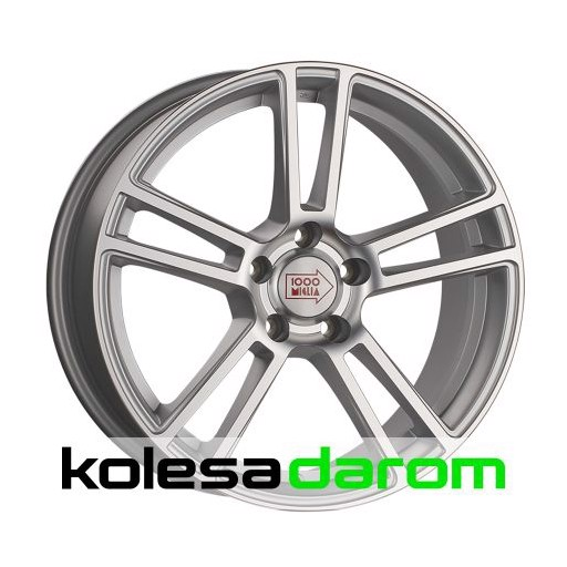 1000 MIGLIA MM1002 9x19/5x120 D72.6 ET33 Matt_Silver_Polished