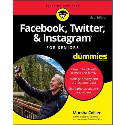 Marsha Collier Facebook, Twitter, and Instagram For Seniors For Dummies