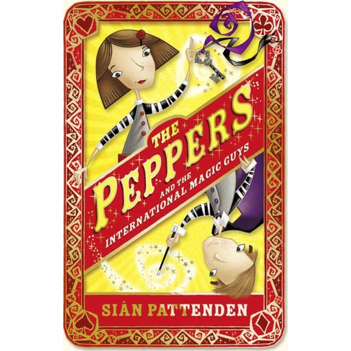 Sian Pattenden The Peppers and the International Magic Guys
