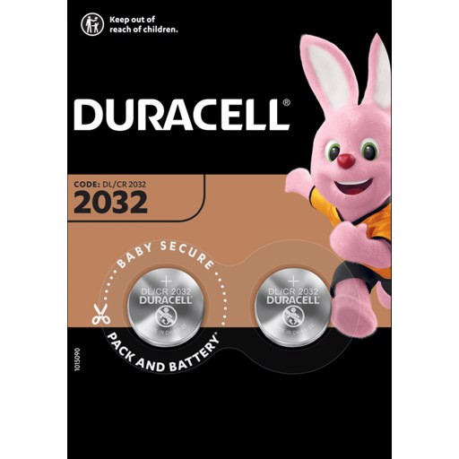 Duracell 2032 2шт.