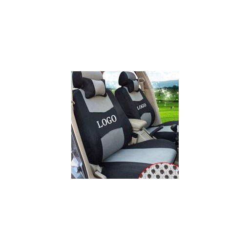 grey/red/beige/blue Embroidery logo Car Seat Cover Front&Rear complete 5 Seat For infiniti q50 q70 esq qx ex jx fx Four Seasons
