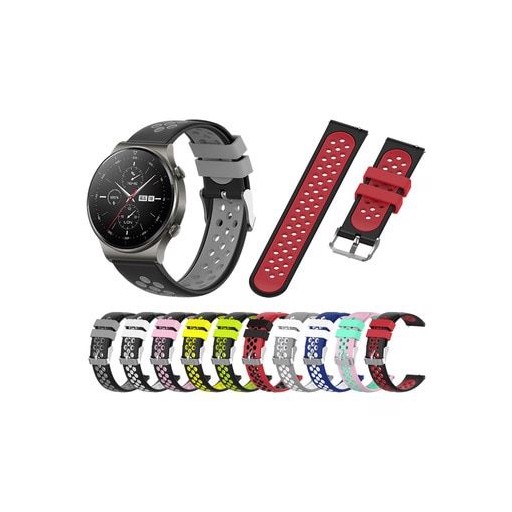 Colorful Silicone Strap For HUAWEI WATCH GT 2 Pro Smartwatch Band For HUAWEI GT2 Pro Replace Bracelet Watchband