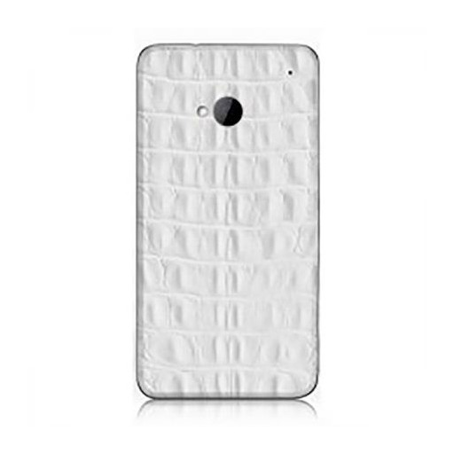 iRich Leather Sticker H-301 for HTC One (White)
